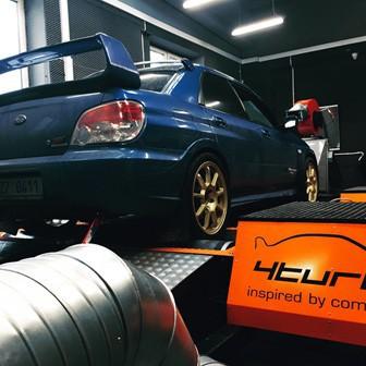 Subaru Impraza WRX STI - Instalace turba Mitsubishi TD05-18G, RCM svodů, Mishimoto intercooleru