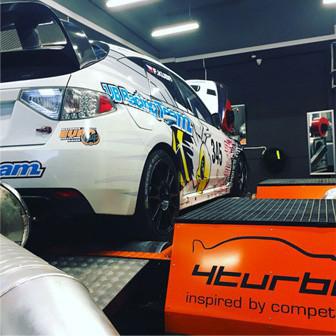 Subaru Impreza WRX STI N14 - Rally, zvýšení výkonu vozu