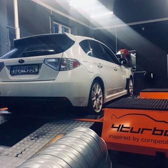 Subaru Impreza WRX STI - Svody RCM, VF48, kovaný motor