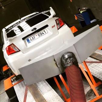 Subaru Impreza WRX STI 2011 s Mitsubishi turbem TD05-18g