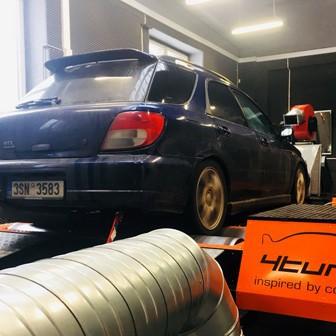 Subaru Impreza WRX 2005 Combi - Nyvýšení výkonu