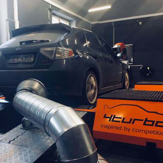 Mitsu turbo v N14 STI