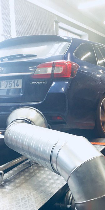 Úprava řídící jednotky Subaru Levotg 1.6T (CVT)