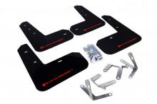 Černé zástěrky s červeným logem RallyArmor BRZ/GT86