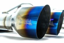 Nerezový catback výfukový systém Invidia GEMINI R400 STI 2012-2018