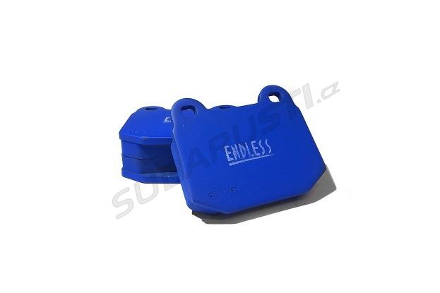 Zadní brzdové desky Endless MX72 pro Impreza STI 2001-2017, EVO 5/6/7/8/9