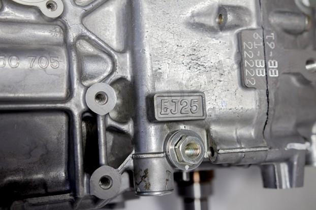 Short blok motoru - polomotor EJ25 Impreza WRX/STI, Forester