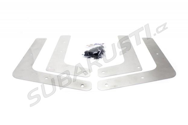 Modré zástěrky s logem STI Impreza WRX/STI 2001-2007