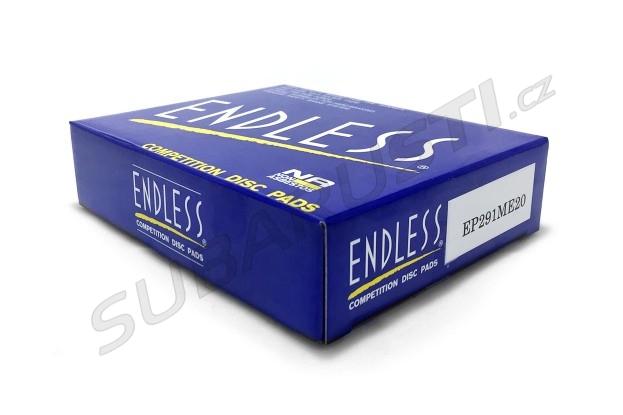 Zadní brzdové desky Endless ME20 pro Impreza STI 2001-2017, EVO 5/6/7/8/9