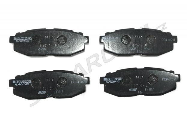 Zadní brzdové desky Ferodo DS2500 pro BRZ/GT86