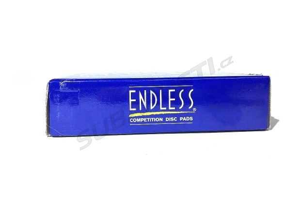 Zadní brzdové desky Endless N35S pro Impreza STI 2001-2017, EVO 5/6/7/8/9