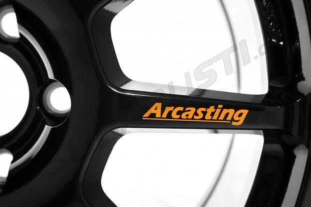Závodní kola Arcasting ZAR 8x18 5x114.3 ET46 56.1, černá matná Impreza STI 2006-2018, Levorg