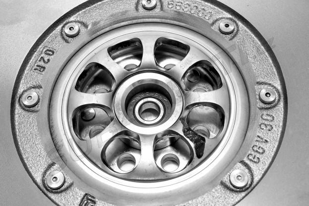 Dvouhmotnostní setrvačník Sachs Impreza, Legacy, Forester diesel