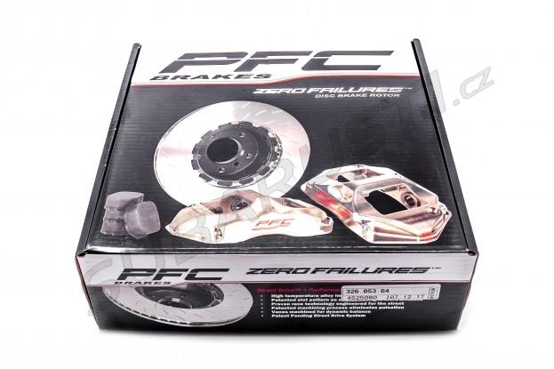 Přední plovouci kotouč Performance Friction V3 - pravý Impreza WRX STI 2001-2017 (multi PCD)