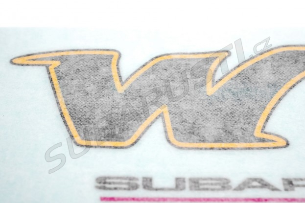 Samolepka Subaru Impreza WRX RA