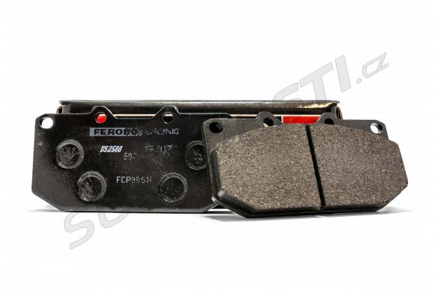 Přední brzdové desky Ferodo DS2500 pro Impreza GT 4píst, WRX 2001-2007