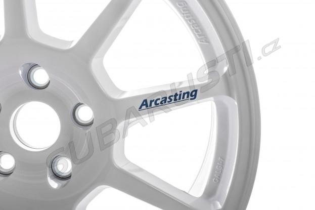 Závodní kola Arcasting ZAR 8x18 5x114.3 67.1 ET28 bílá EVO 5/6/7/8/9/10