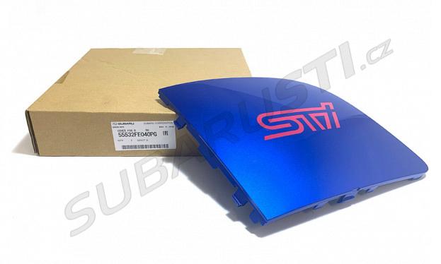 Krytka mlhovky Impreza WRX/STI 2006-2007 - pravá, modrá