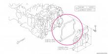 Těsnění víka ventilu - levé BRZ, Forester XT 2013+, GT86, Impreza 2015+, WRX US 2014+