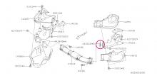 Těsnění do svodů Impreza GT/WRX/STI, Forester, Legacy
