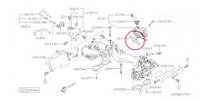 Těsnění škrtící klapky Impreza WRX/STI 2.0 2001-2005, Forester 2.0XT 2003-2005