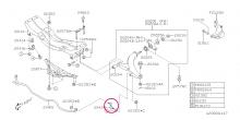Kost předního stabilizátoru Impreza WRX/STI, Forester, Legacy/Outback