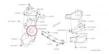 Těsnění do svodů Impreza GT/WRX/STI, Forester XT, Legacy GT