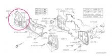 Kryt rozvodů - vnější pravý Impreza GT/WRX/STI, Forester, Legacy/Outback