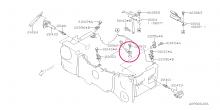 Čidlo klepání, knock sensor Impreza WRX 2002-2005