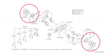 Kované písty RCM Omega 100.00 mm Impreza WRX/STI, Forester pro STI EJ25