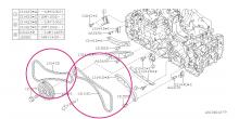 Rozvodový řetěz Boxer Diesel Impreza 2008+, Forester 2008+, Legacy/Outback 2007-2014