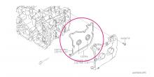 Těsnění víka ventilu – levé Boxer Diesel