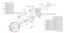 Centrální viskozní diferenciál Boxer Diesel 6MT (Impreza, Forester, Legacy) WRX 2014+, XV 2018+