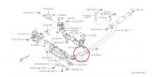 Těsnění výfuku Boxer Diesel – zadní (DPF filtr) l Impreza, Forester, Legacy, XV, Outback