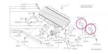 Těsnění pod intercooler Impreza GT/WRX/STI, Forester