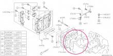 Těsnění pod hlavy Cossworth T=0.78mm - levé BRZ/GT86