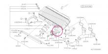 Těsnění pod BOV ventil Impreza WRX/STI