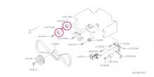 Kladka rozvodového řemene Impreza GT/WRX/STI, Forester