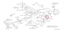Zadní kost stabilizátoru Impreza WRX/STI 01-07