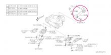 Reakční vzpěra převodovky – sk. N Impreza GT/WRX/STI, Forester, Legacy, Outback