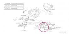 Pevné uložení motoru – sk. N (levé) Impreza GT/WRX/STI 1992-2018
