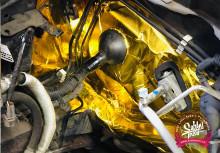 Zlatá samolepící termoochrana